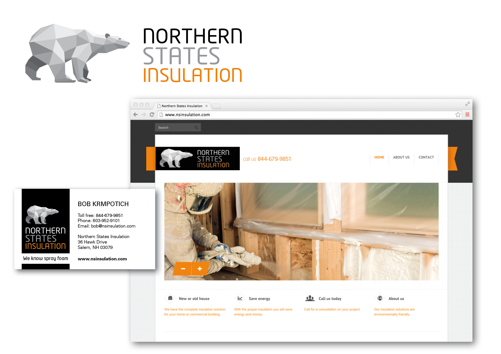 webbplats northern states insulation